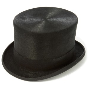 Christys Melusine Fur Felt Top Hat