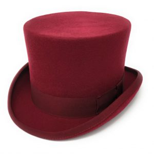 Cotswold Country Hats Red Top Hat