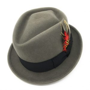 Diamond Crown Pork Pie/Trilby Hat