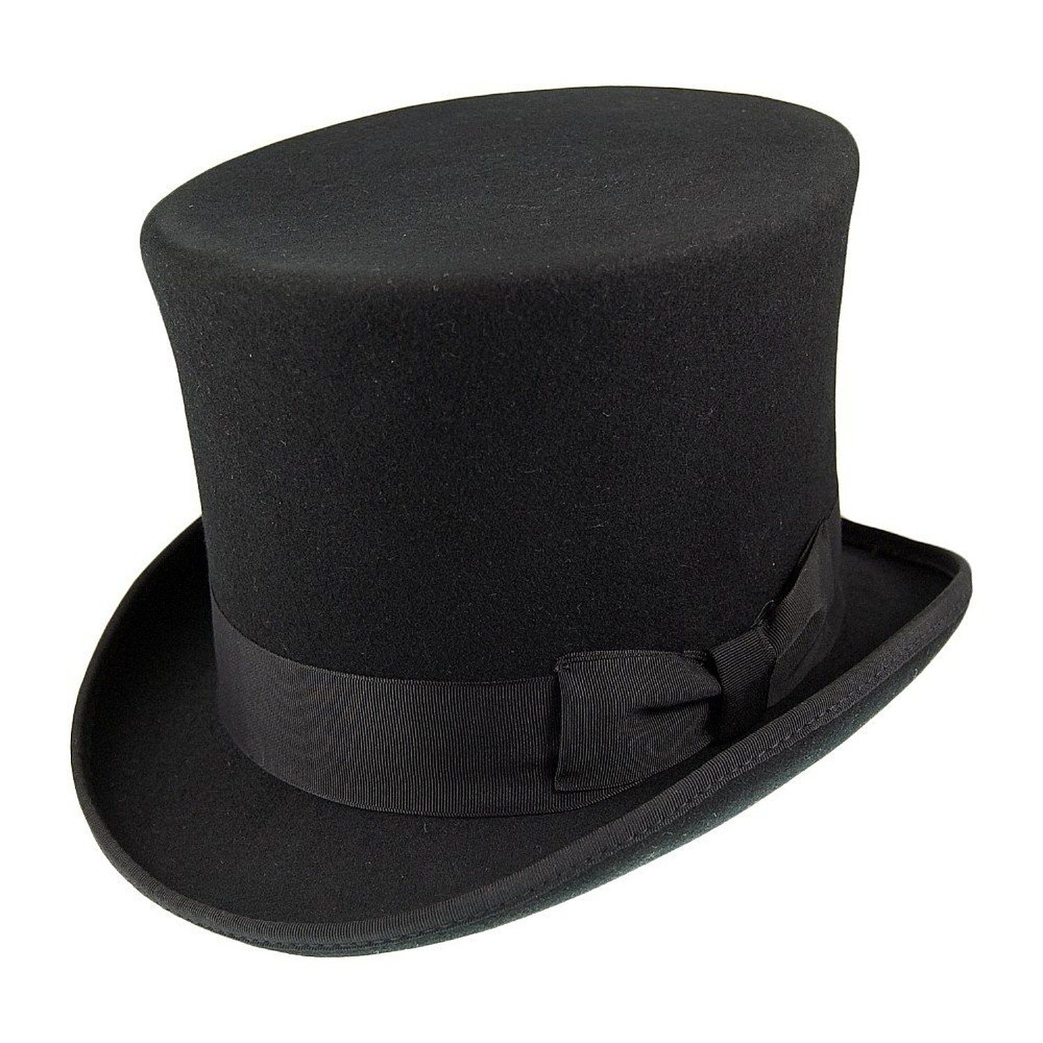 Old Fashion Top Hat Side View