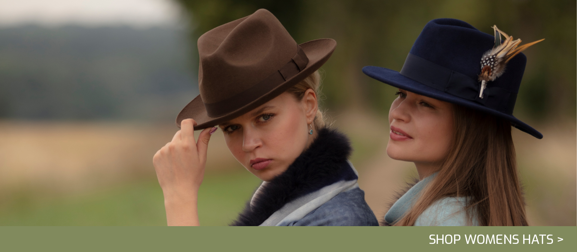 Womens hats fedora trilby feathers caps