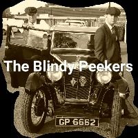 blindy peekers - peaky blinders cap - london brighton