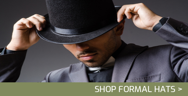 Formal Hats, Top Hats, Bowler Hats, Homburg Hats